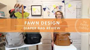 Fawn Design Diaper Bag Vs Freshly Picked Fawn Design Diaper Bag Review 2017 New Upgrades