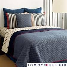 Nautica Chatham Cotton Reversible Quilt and Sham Separates ... & Tommy Hilfiger Chambray 3-piece Cotton Reversible Quilt Set | Overstock.com  Shopping - Adamdwight.com
