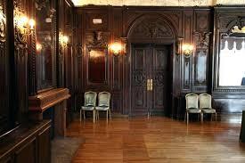 dark wood paneling indoor whitewashing paneled walls decorating full size