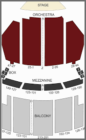 orpheum theater seat map inspirational orpheum theater los angeles ca seating chart se of orpheum
