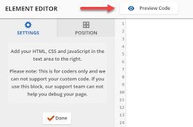 Custom HTML Element – Knowledge Base | ONTRAPORT