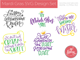 Mardi Gras Designs Mardi Gras Mini Design Set