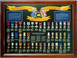 Us Military Medals And Ribbons Chart Military Service Medals