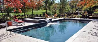 backyard design with pool. Swimming Pool With Small Water Fall Backyard Design S