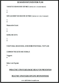 behavior support plan template. Behavior Support Plan Template It Send Leicestershire astrnmrco