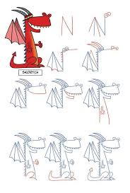 draw a dragon from an n