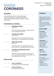 Plantillas Para Curriculum Gratis En Formato Word