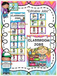 Free Preschool Classroom Job Chart Pictures Classroom Jobs Clip Chart Classroom Jobs Preschool Job