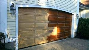 stained garage doors ma door refinishing cost of wood garage doors 5 photo 5 of 7