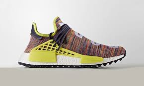 chanel x pharrell adidas. pharrell\u0026#8217;s adidas hu nmd trail is arriving in two new colorways chanel x pharrell c