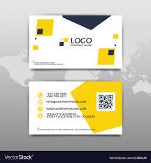 Modern Simple Design Modern Simple Business Card Template Flat Design