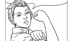Just pick a coloring sheet, pay, and download! 21 Printable Coloring Sheets That Celebrate Girl Power Huffpost Life