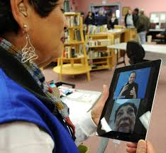 assistive technology for hearing impaired and deaf residents to photo details