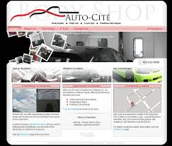 Auto Cite Body Shop Website By Archaicdarkness On Deviantart