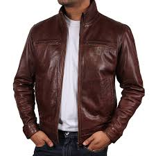 best leather jacket brands men
