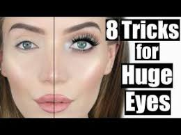 today i m going to show you some easy makeup tips to make your eyes look bigger of course i used my own stephanie la