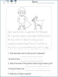 Kindergarten First Grade Reading Worksheets Download Them And Try To ...