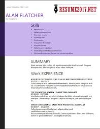 Job Resume Template 2018 Enchanting RESUME FORMAT 48 48 Latest Templates In WORD