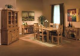 full size of shabby rustic open plan dining room design with oak furniture on colorful area