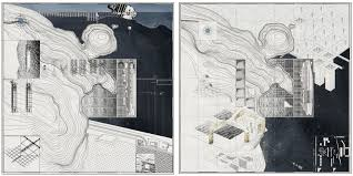aa school of architecture projects review diploma wynn  the image the map shows the fabrication of a territory that is bound between the two distinct entities
