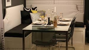 Ideal custom corner banquette bench Pinterior Designer featured on  Remodelaholic