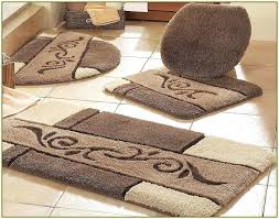 bathroom toilet rug modern decoration sets plush bath set seat bathroom toilet rug wonderful sets