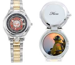 and engraved firemans and firefighters watch personalized and engraved firemans and firefighters watch