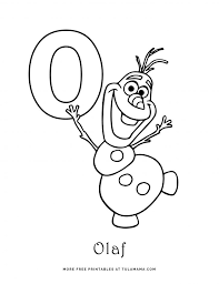 One of such methods are coloring pages with english letters and alphabet. Free Printable Disney Alphabet Coloring Pages Tulamama