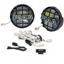 piaa piaa 520 series ion crystal driving light kit 85 w black 6