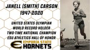 Emporia State Athletics mourns the passing of Hall of Honor member Janell  (Smith) Carson | Free | emporiagazette.com
