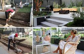diy ideas how to level ground by hand
