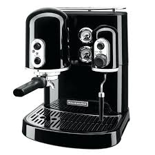 kitchen aide coffee pro line series cup espresso coffee maker w milk black kitchenaid coffee maker