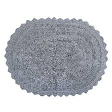 round bath rug ultra soft spa cotton crotchet round bath mat place in front of shower