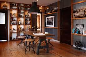 industrial style office. Industrial Loft Interior Design Style Office