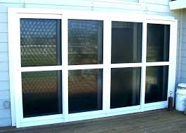 8 patio door 4 panel sliding glass cost best 3 of doors to install foot lof
