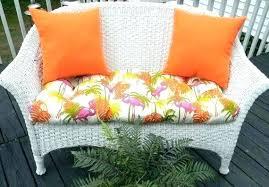 settee bench cushion wicker settee cushion sets wicker cushion indoor outdoor cushion 3 set for wicker
