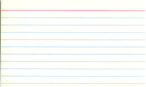 3 By 5 Index Card 3 X 5 Index Card Template Inspirational Blank Index Card At Best