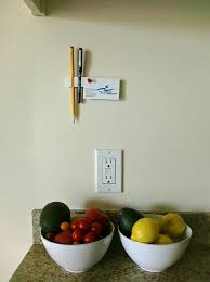 5 minute wall pencil holder