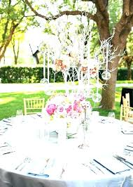 round table centerpiece ideas round table centerpieces minimalist and budget friendly wedding at fall centerpieces for