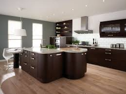 kitchens with dark brown cabinets. Light Grey Kitchen Walls With Dark Brown Cabinets Ideas Kitchens