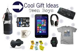 Cool gift ideas for teen boys - Savvy Sassy Moms