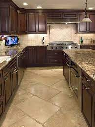 80 Alluring Kitchen Floor Ideas You Must Have 2018 Kitchen Flooring Kitchen Floor Tile Farmhouse Kitchen Cabinets