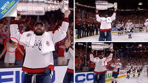 ice hockey fan steals the show in washington capitals stanley cup victory celebrations as she gets her s out on live tv