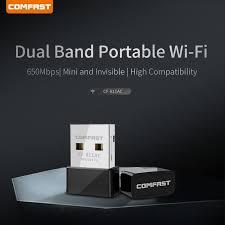 For <b>COMFAST CF</b>-<b>811AC</b> 650M Dual - Band Computer USB ...