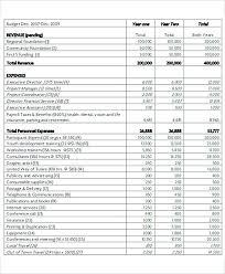 Nonprofit Project Budget Template 8 Non Profit Budget