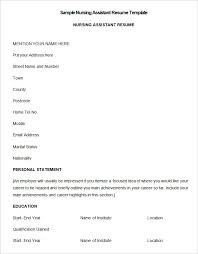 How To Write A Nursing Resume Inspiration Nursing Resume Template 40 Free Samples Examples Format
