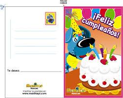 tarjetas de cumplea os para ni as tarjeta de feliz cumpleaños hago mi tareahago mi tarea