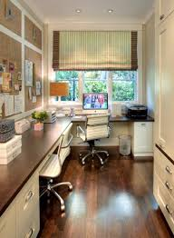 cottage style office. Built-desk-and-cottage-traditional-home-office-43173 Cottage Style Office