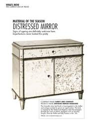 distressed mirrored furniture. Mirrored Furniture Usually Looks So Cold. The Distress Gives It Warmth And Depth Distressed