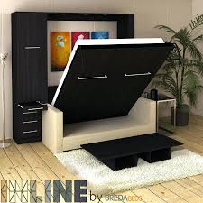 Extraordinary Bed With Hutch And Sofa Minimalist Office Diy Murphy